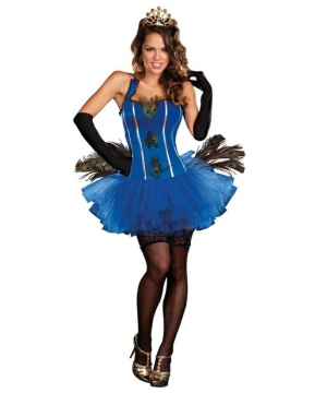 Royal Peacock Women Costume
