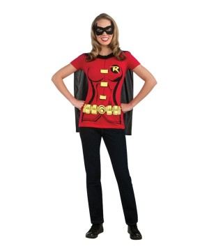 Sexy Robin Women Costume Kit