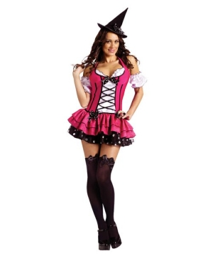 Sugar N Spice Witch Women Costume