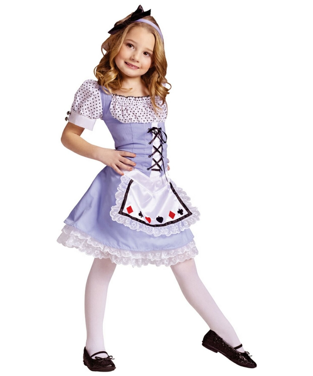c3e470766392 Alice in Wonderland Disney Girls Costume