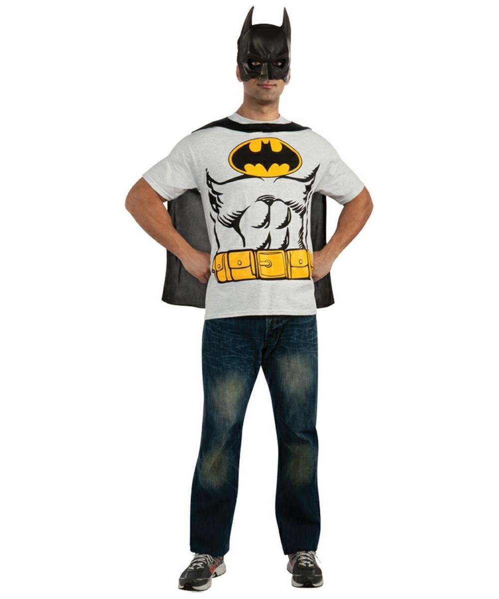 sc 1 st  Halloween Costumes & Batman Adult Costume Kit - Men Superhero Costumes
