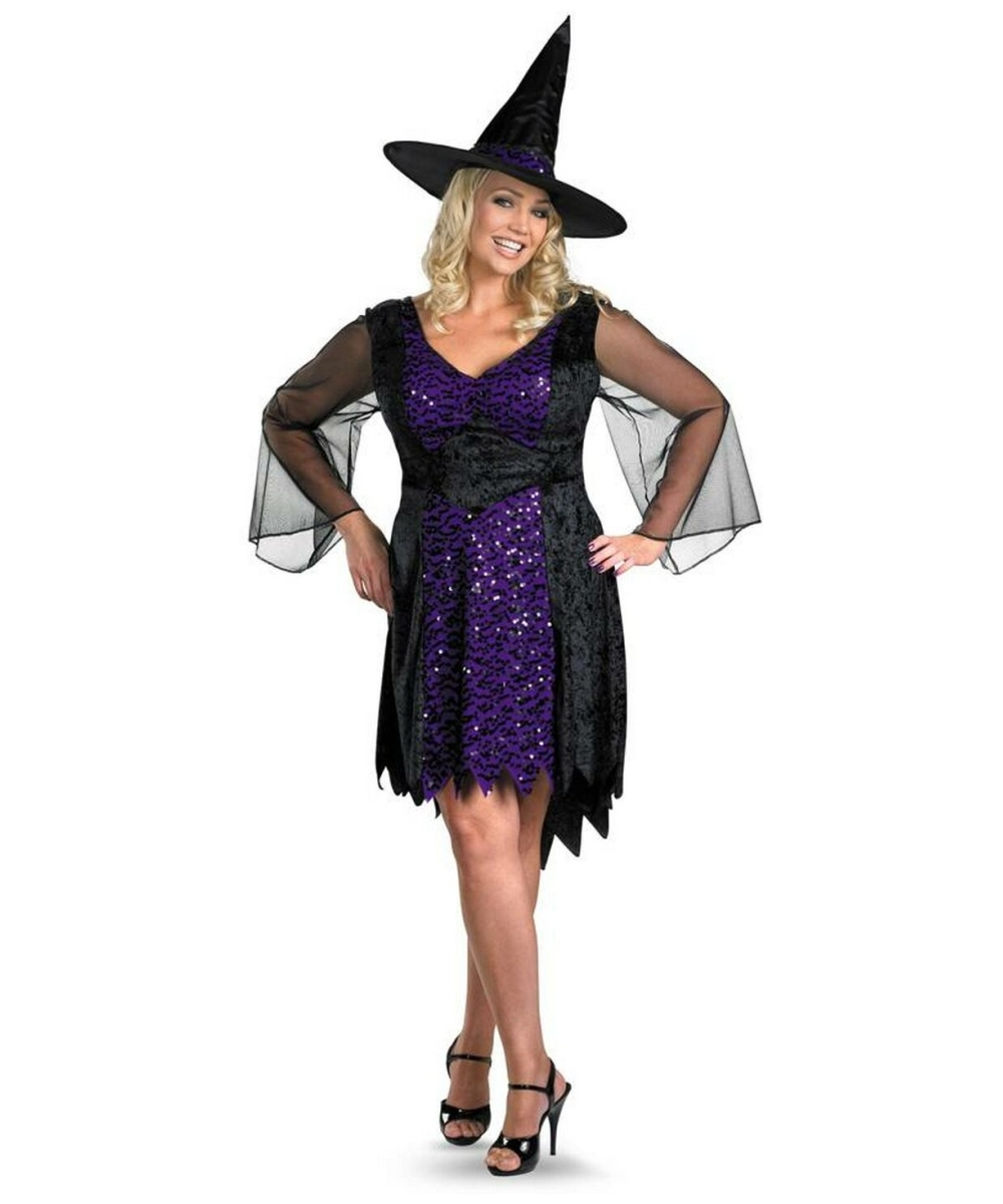 Brilliantly Bewitched plus size Costume
