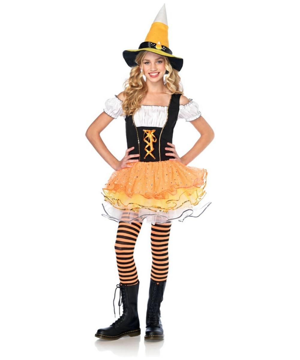 Candy Spellcaster Costume - Teen Costume - Witch Halloween Costume at Wonder Costumes  sc 1 st  Wonder Costumes & Candy Spellcaster Costume - Teen Costume - Witch Halloween Costume ...