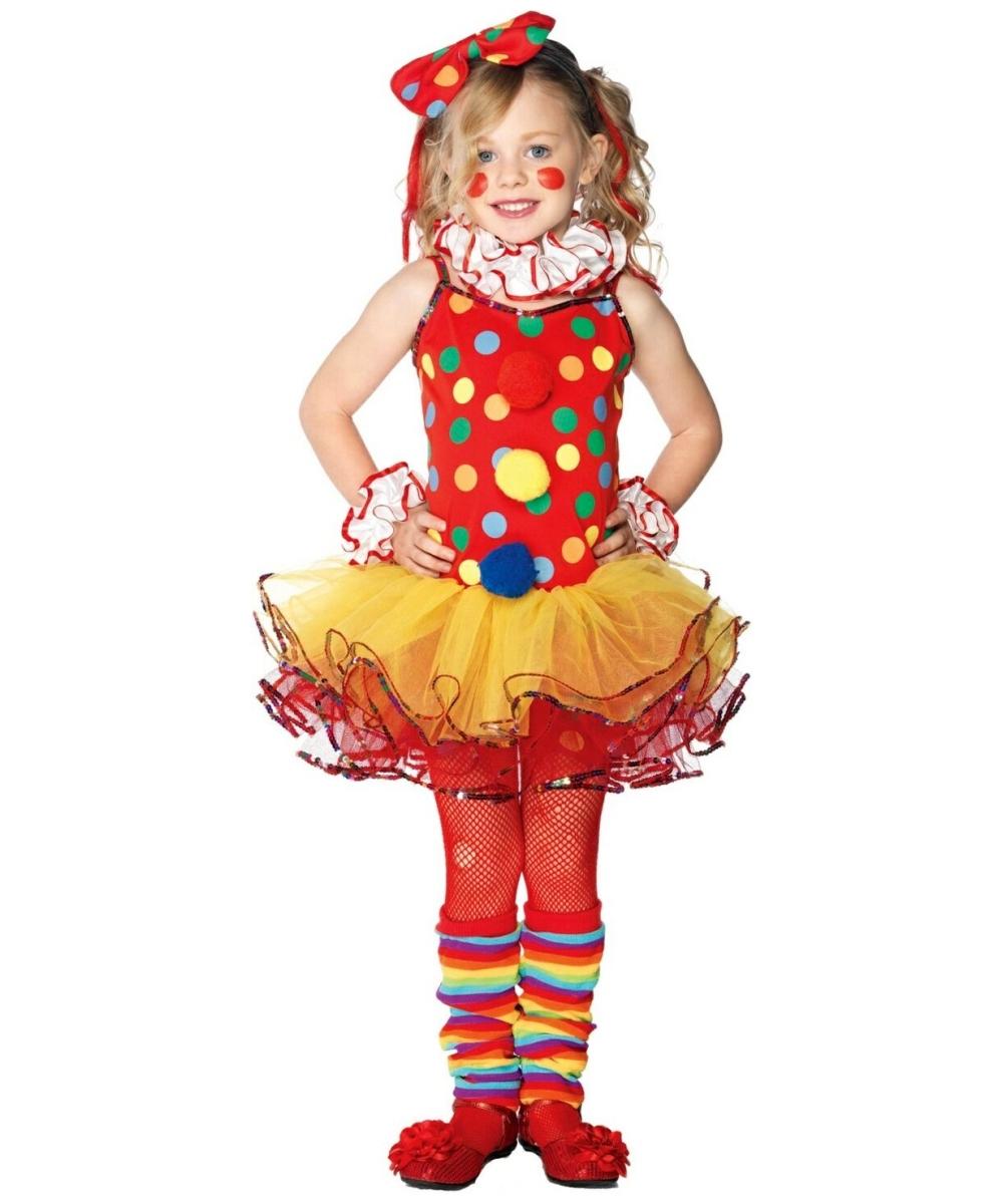 Clown Circus Costume Kids Costume Girl Clown Costumes