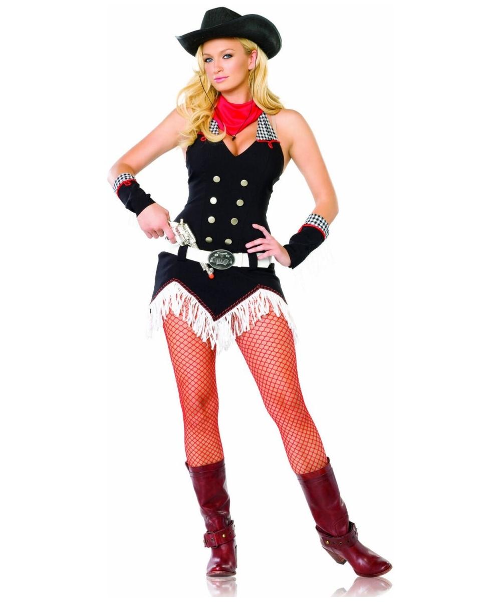 Adult Shoot Em up Cowgirl Costume - Women Cowboy Costumes