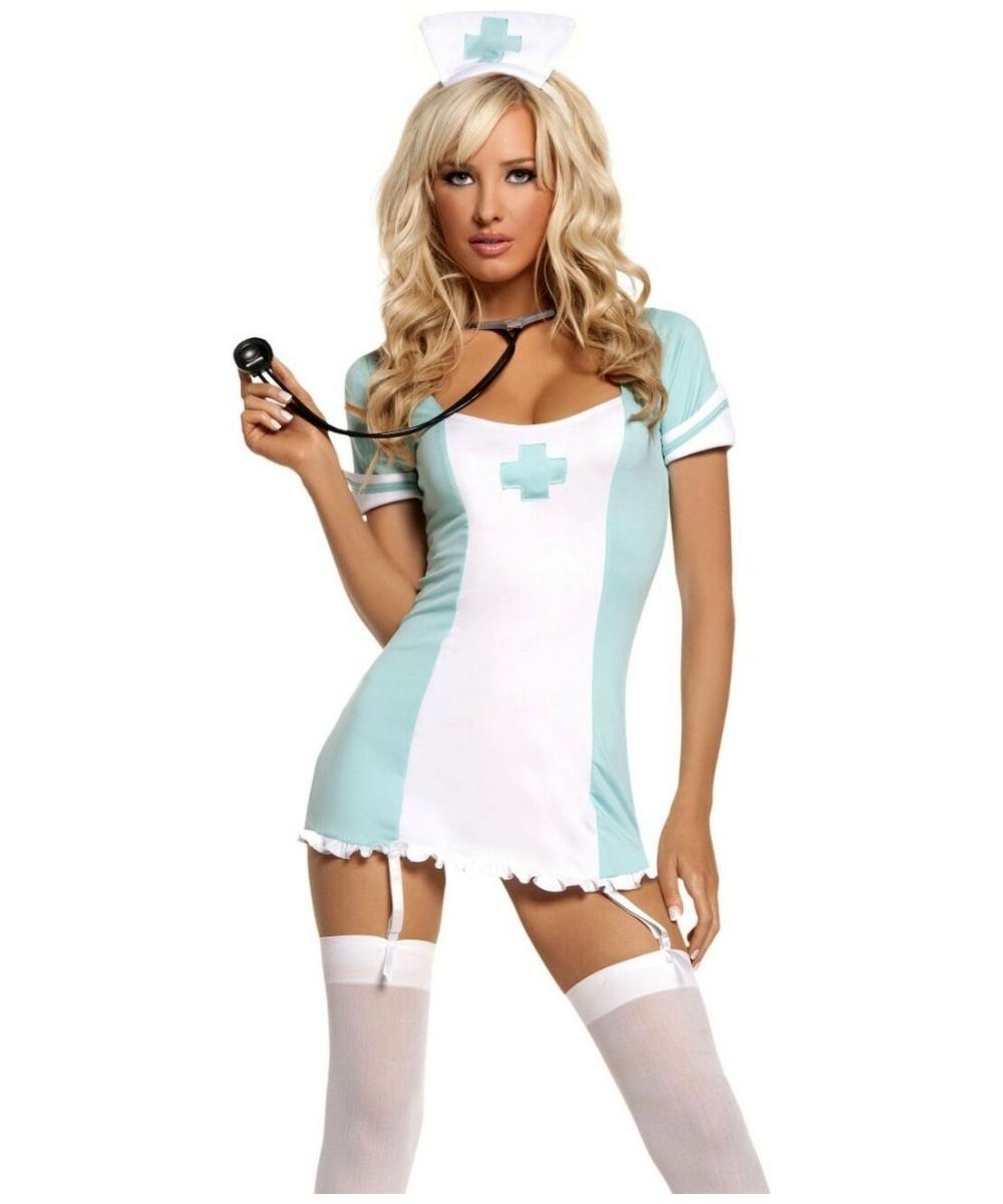 Nurse CPR Adult Costume - Adult Nurse Costumes