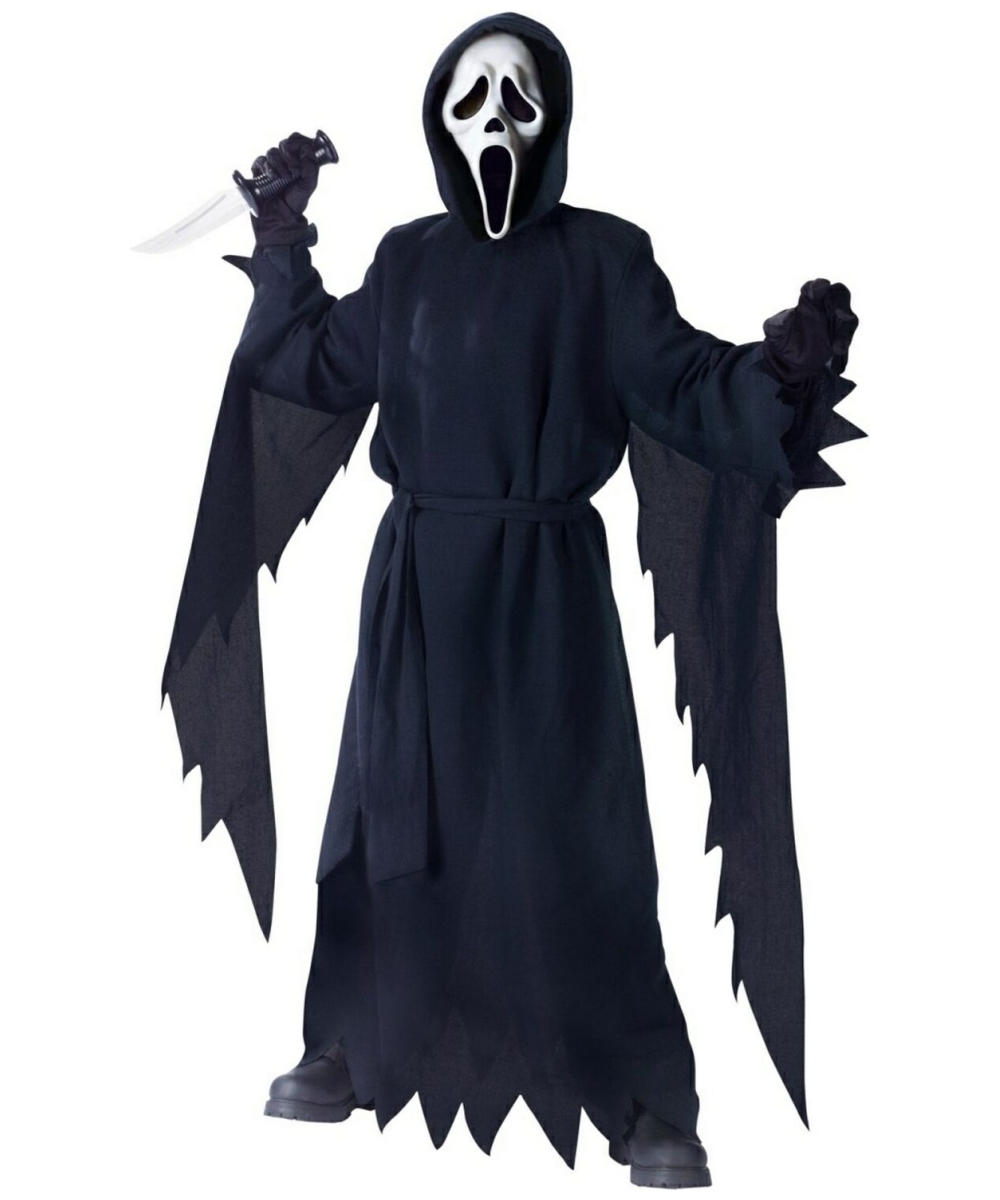 ghost face kids costume ghost halloween costumes. Black Bedroom Furniture Sets. Home Design Ideas