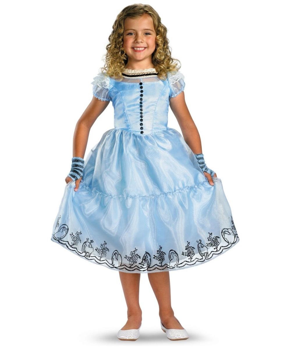 Alice in Wonderland Dresses for Girls