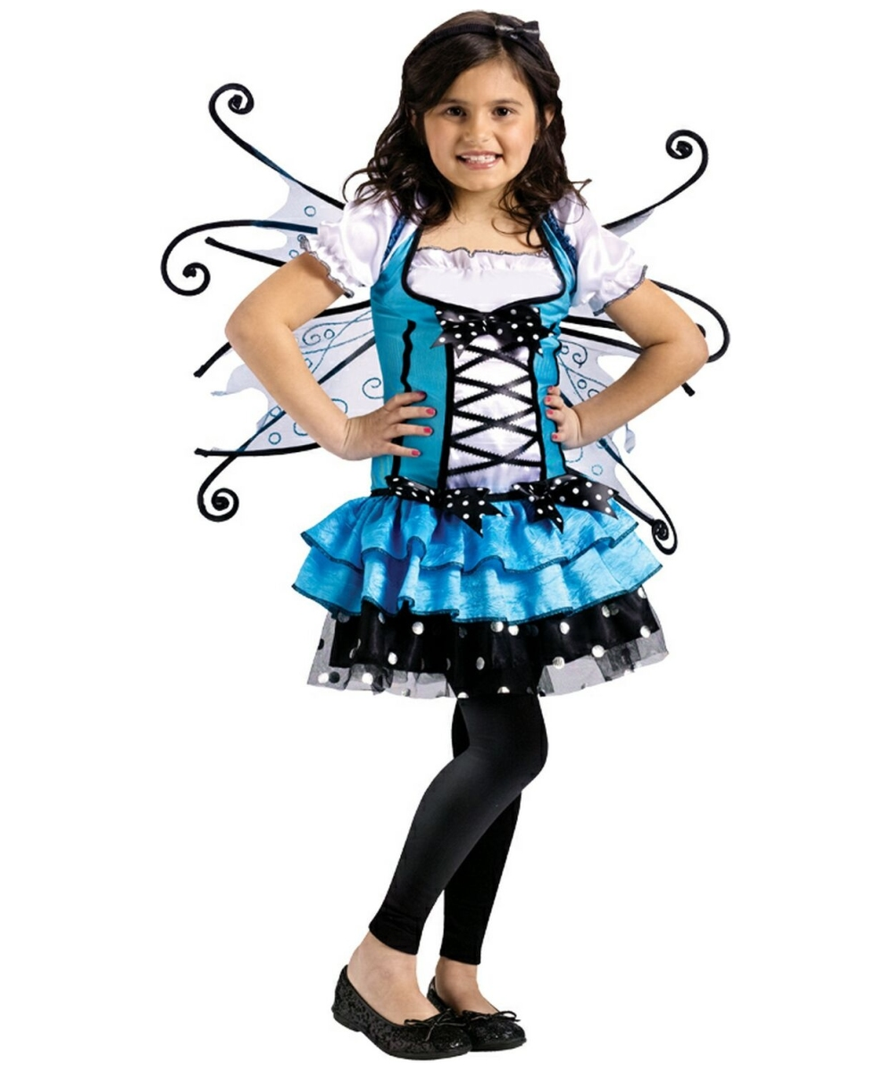 Girls Bluebelle Fairy Costume