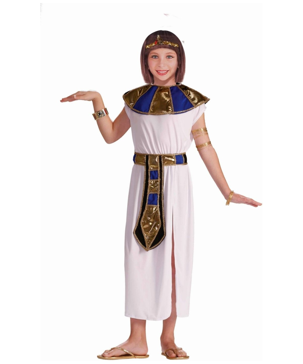 sc 1 st  Wonder Costumes & Cleopatra Nile Egyptian Costume - Girls Egyptian Costumes