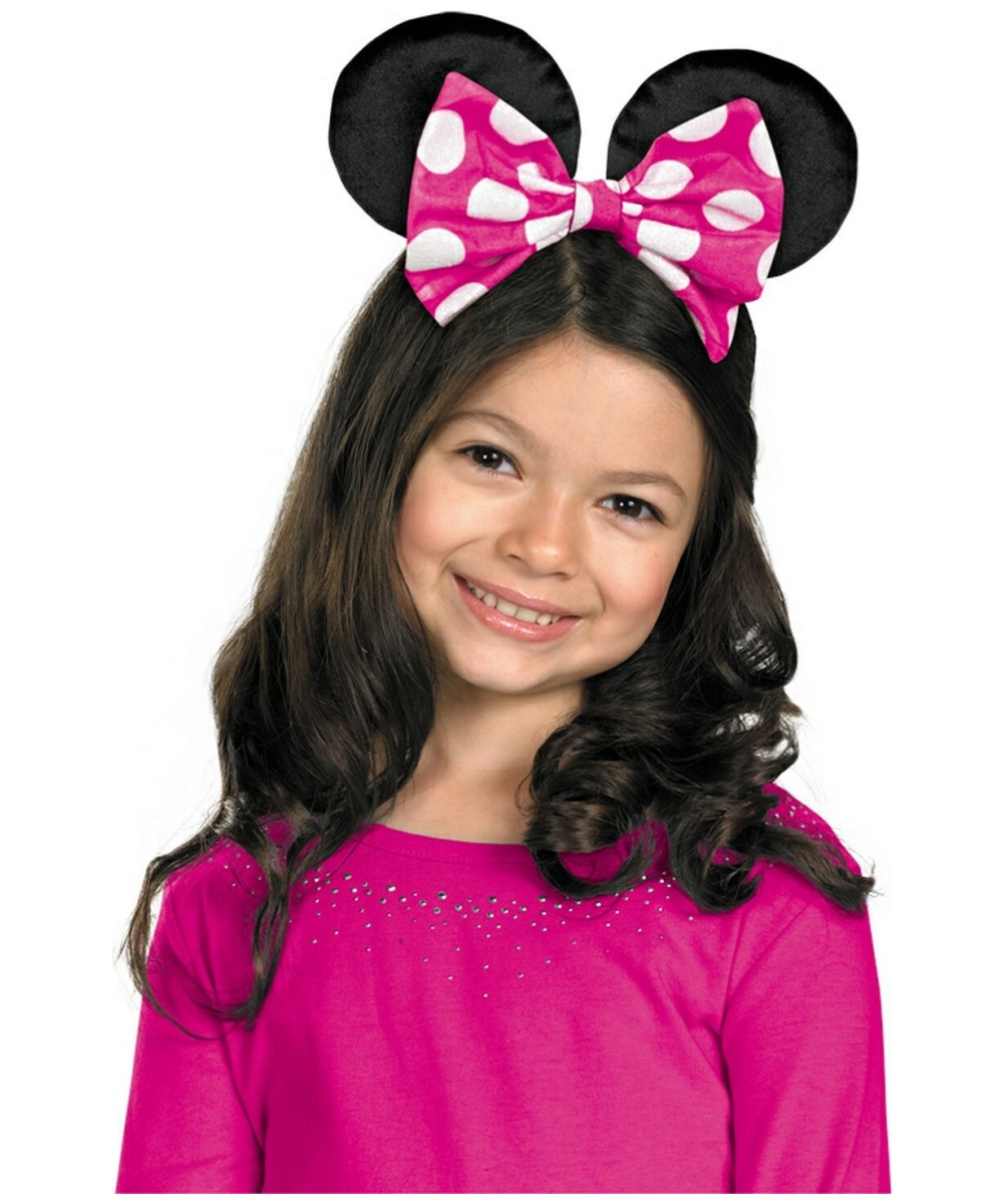 Minnie Mouse Girls Bow  sc 1 st  Wonder Costumes & Minnie Mouse Disney Kids Bow - Girls Disney Costumes