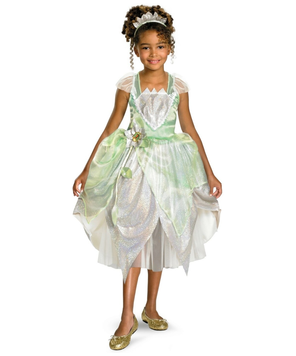 Tiana princess kids costume girl disney costumes thecheapjerseys Images
