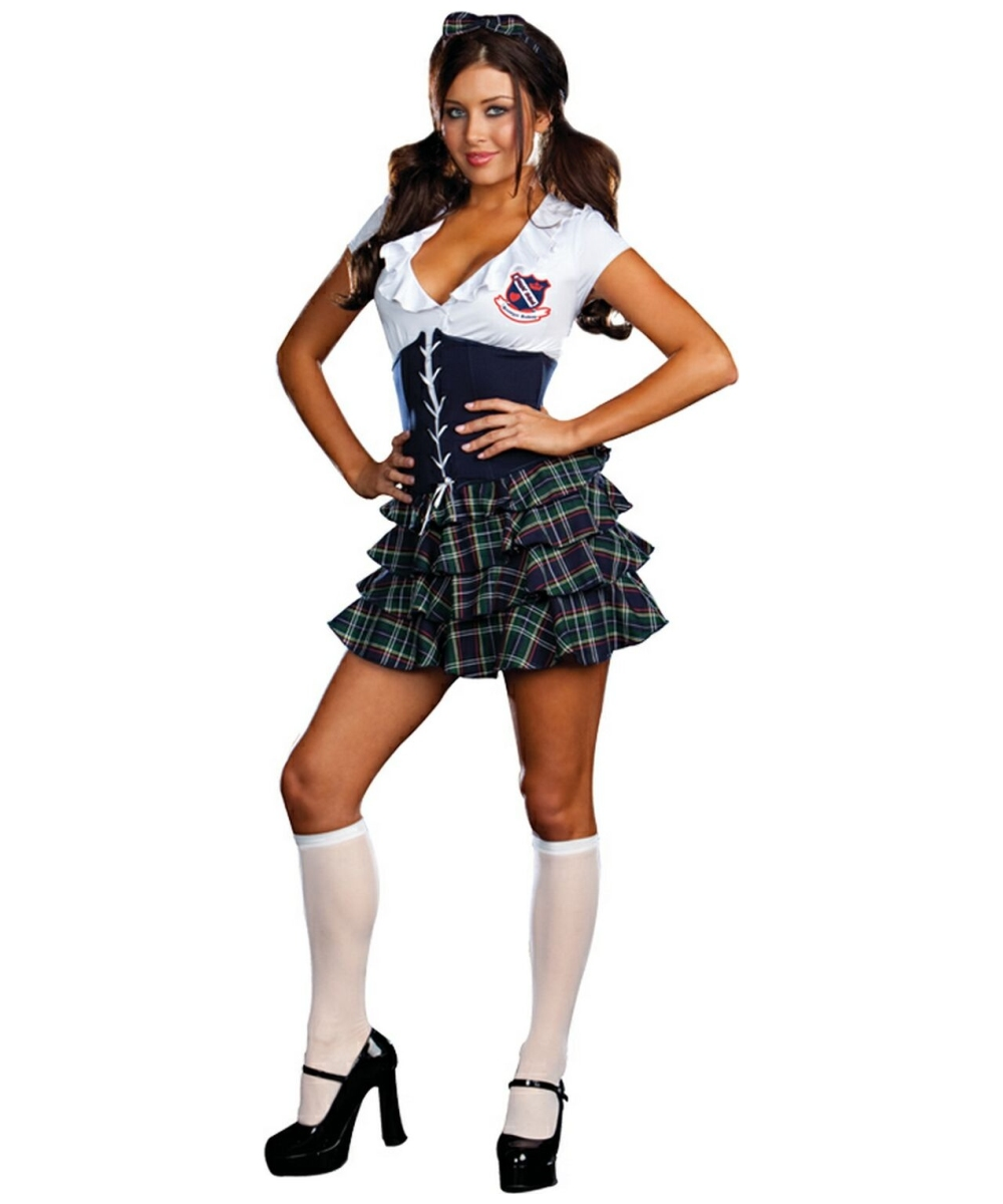 school skipping girl adult costume - women halloween costumes