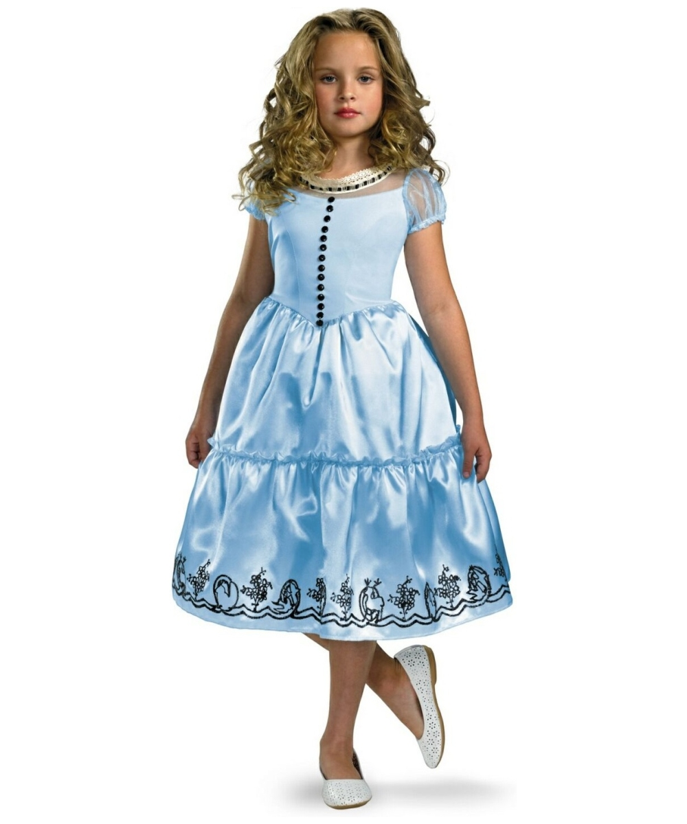Alice Disney Movie Kids Costume Girl Costumes