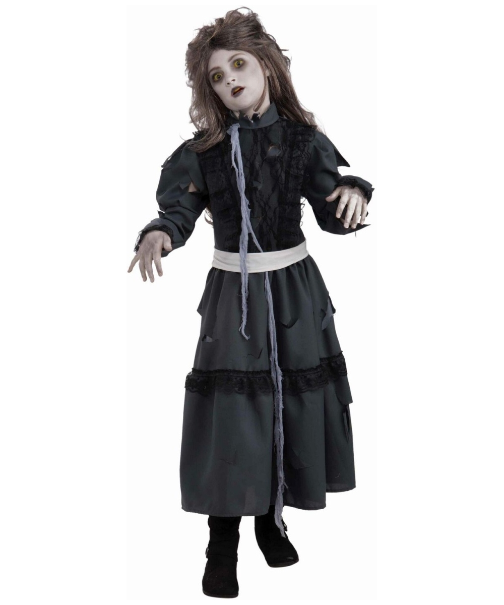 Halloween Zombie Costumes For Girls.Zombie Kids Halloween Costume Girls Zombie Costumes