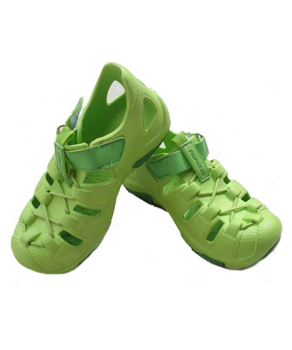 Green Clog Babykids Shoes