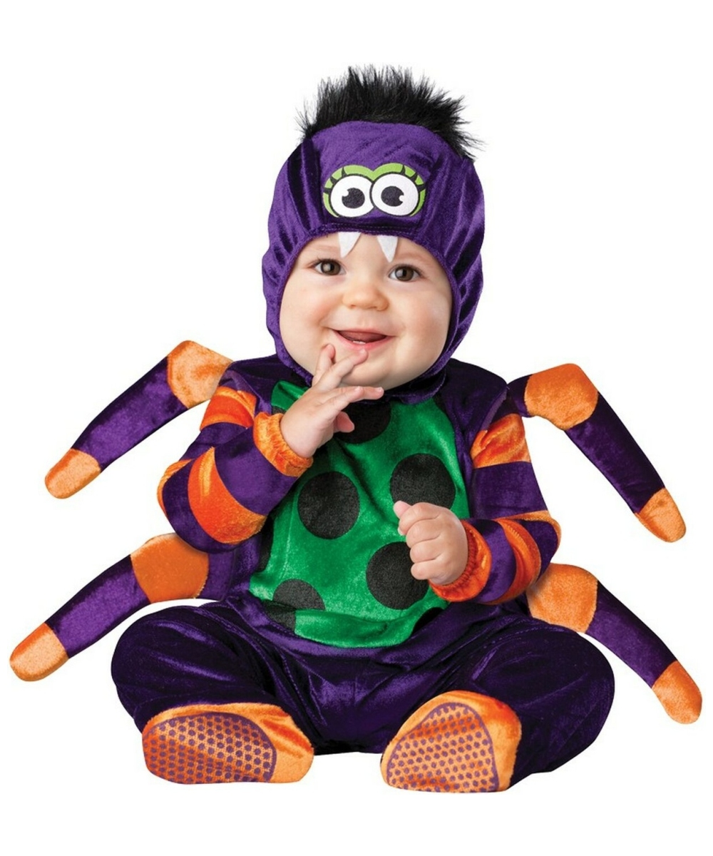 Itsy Bitsy Spider- Baby Costume - Baby Halloween Costume at Wonder Costumes  sc 1 st  Wonder Costumes : spider halloween costumes  - Germanpascual.Com