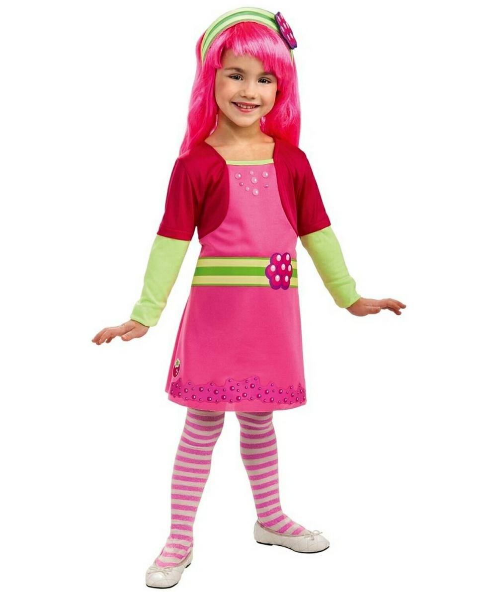 Adult strawberry shortcake halloween costume