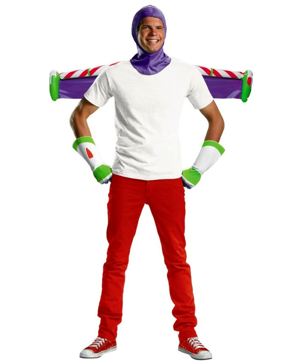 Buzz Lightyear Mens Costume Kit