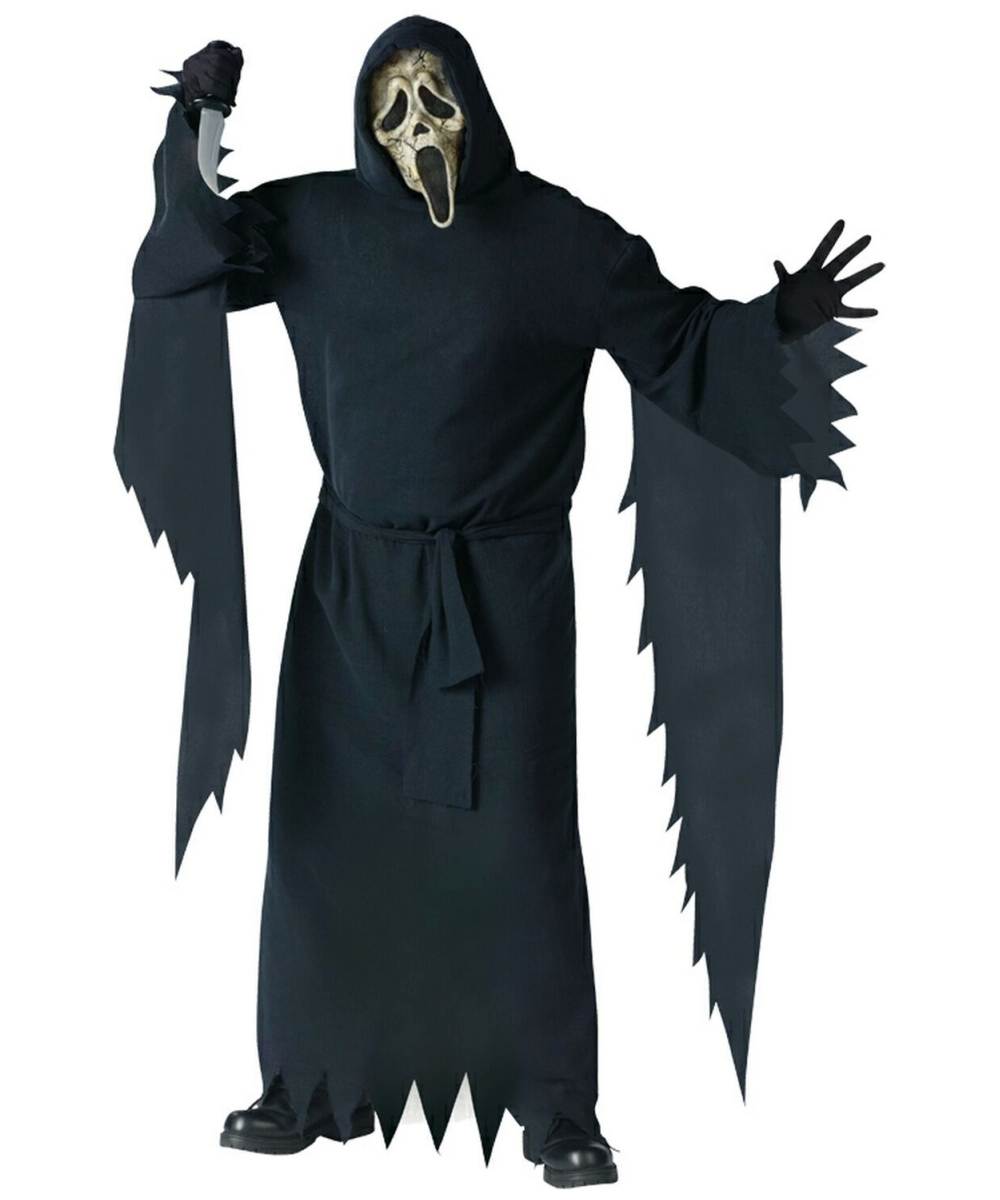 Mens Ghostface Zombie Costume plus size