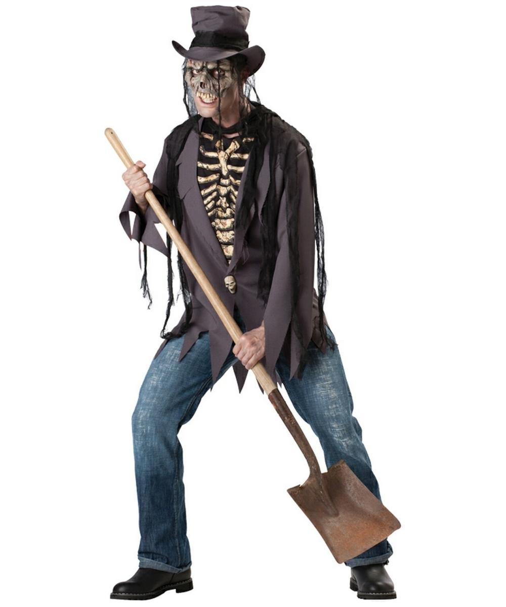 Grave Robber Men Costume  sc 1 st  Halloween Costumes & Grave Robber Costume- Adult Costume - Scary Halloween Costume at ...