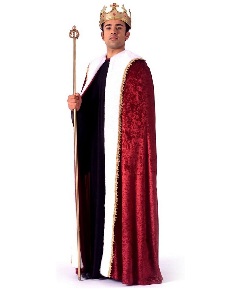 adult king robe halloween costume men costumes