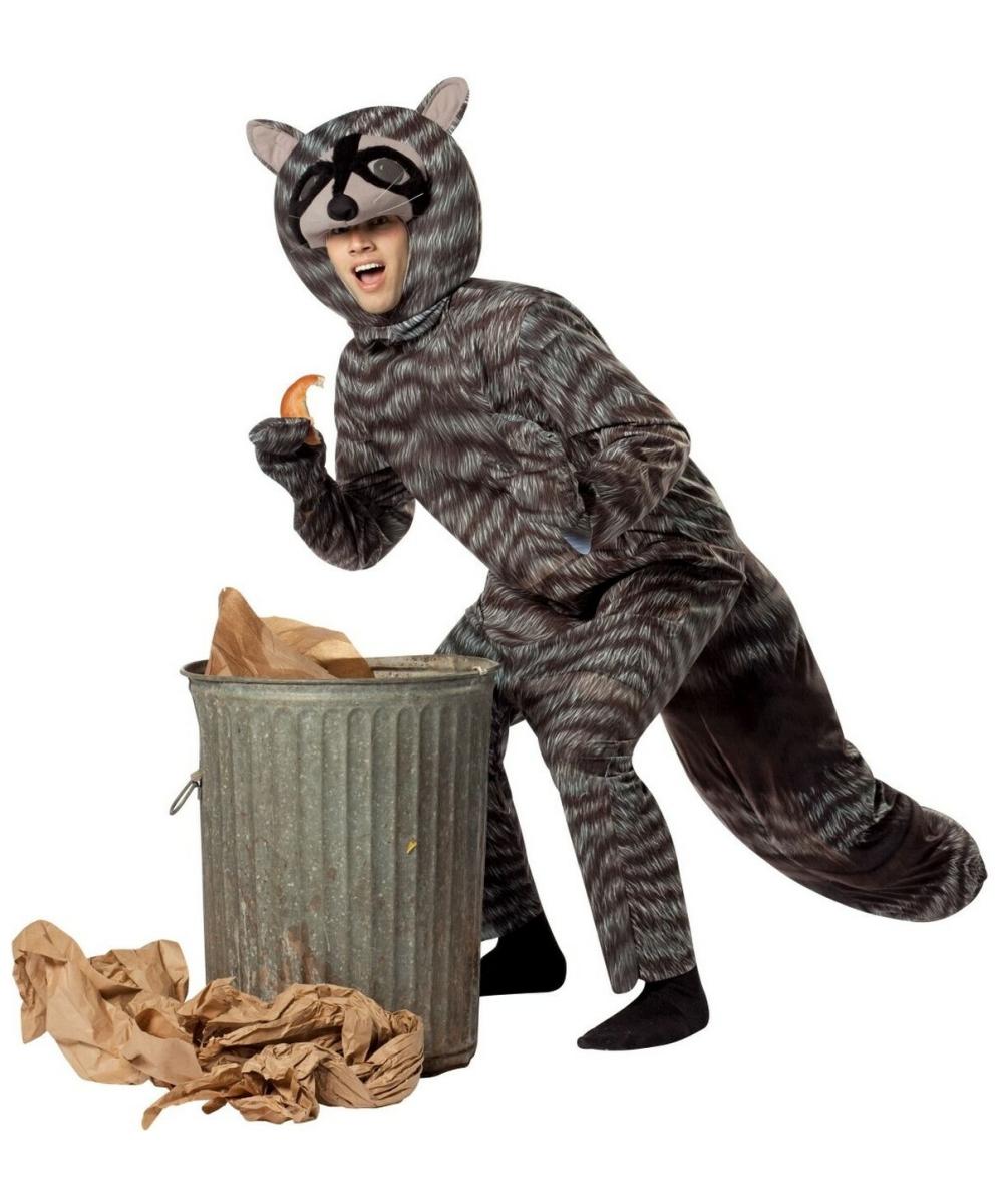Kids Raccoon Halloween Costume