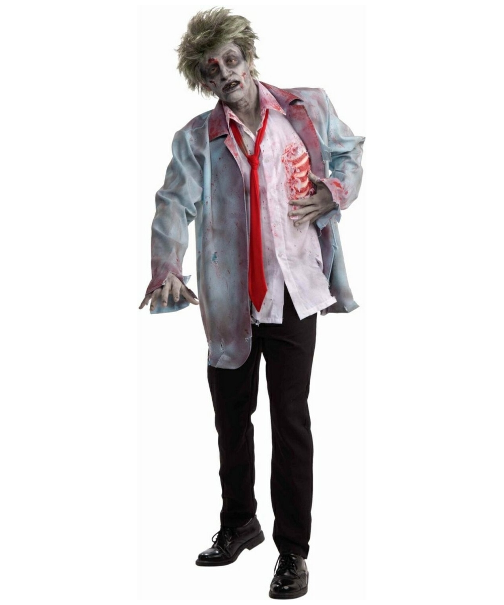 adult zombie man halloween costume - men costumes