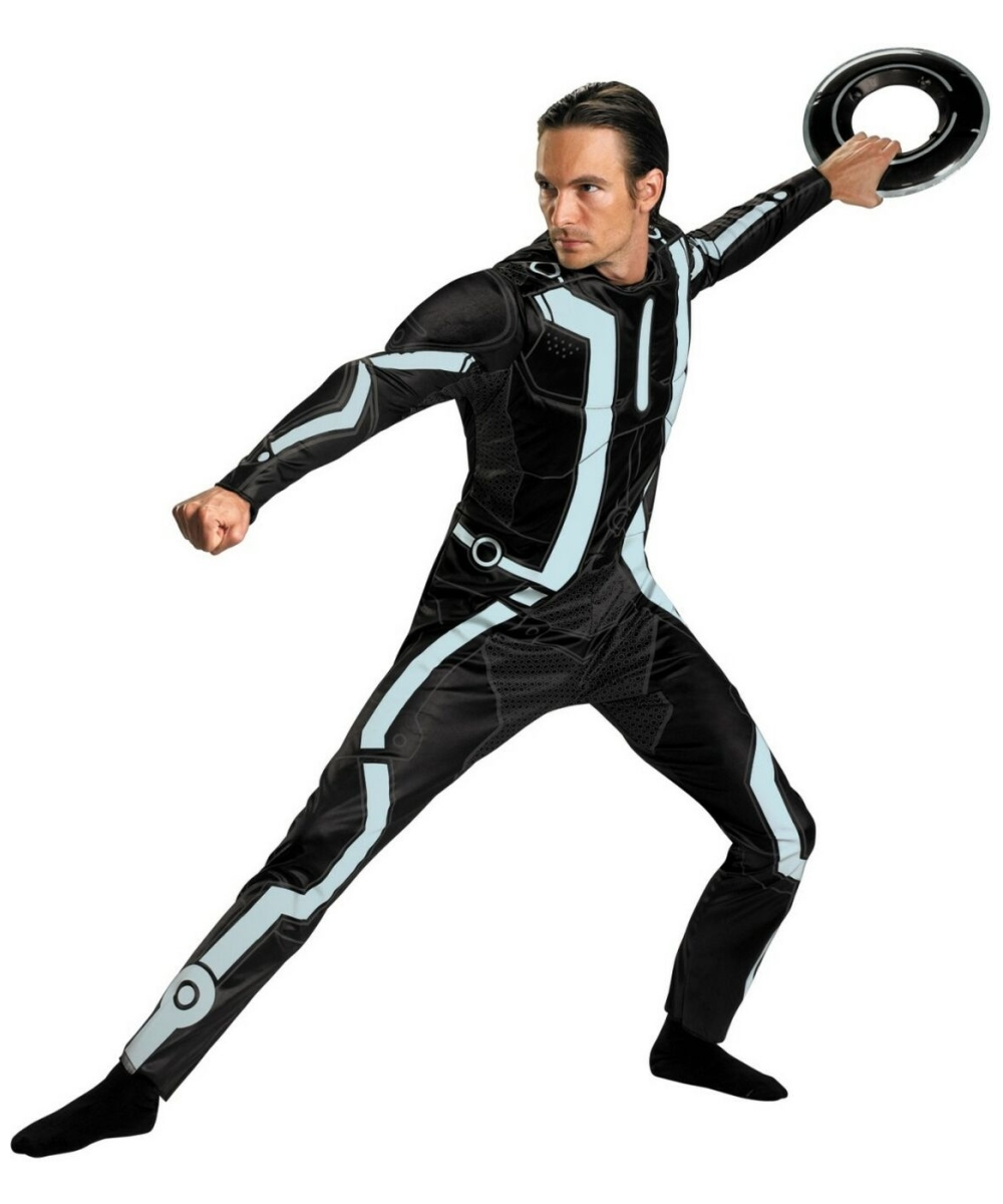 Tron Legacy Mens Costume Deluxe  sc 1 st  Wonder Costumes & Adult Tron Legacy Disney Halloween Costume