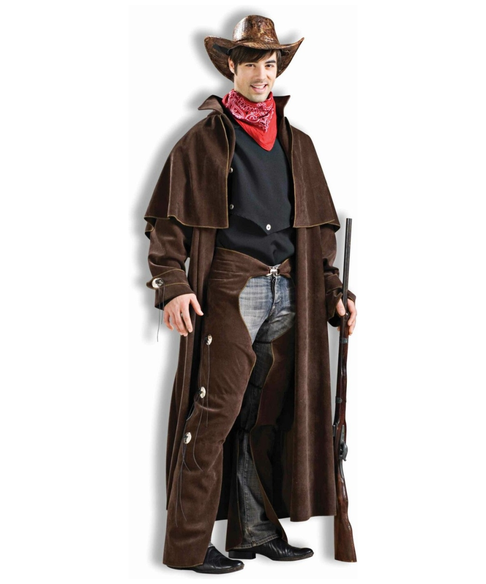Western Cowboy Men Costume  sc 1 st  Wonder Costumes & Cowboy Cowgirl Adult Costume - Men Costumes