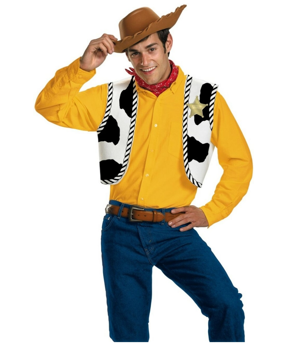 Mens Woody Kit Disney Costume