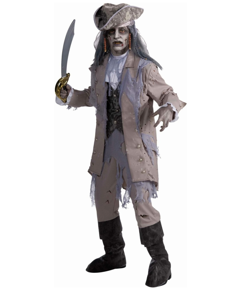 Mens Zombie Pirate Costume