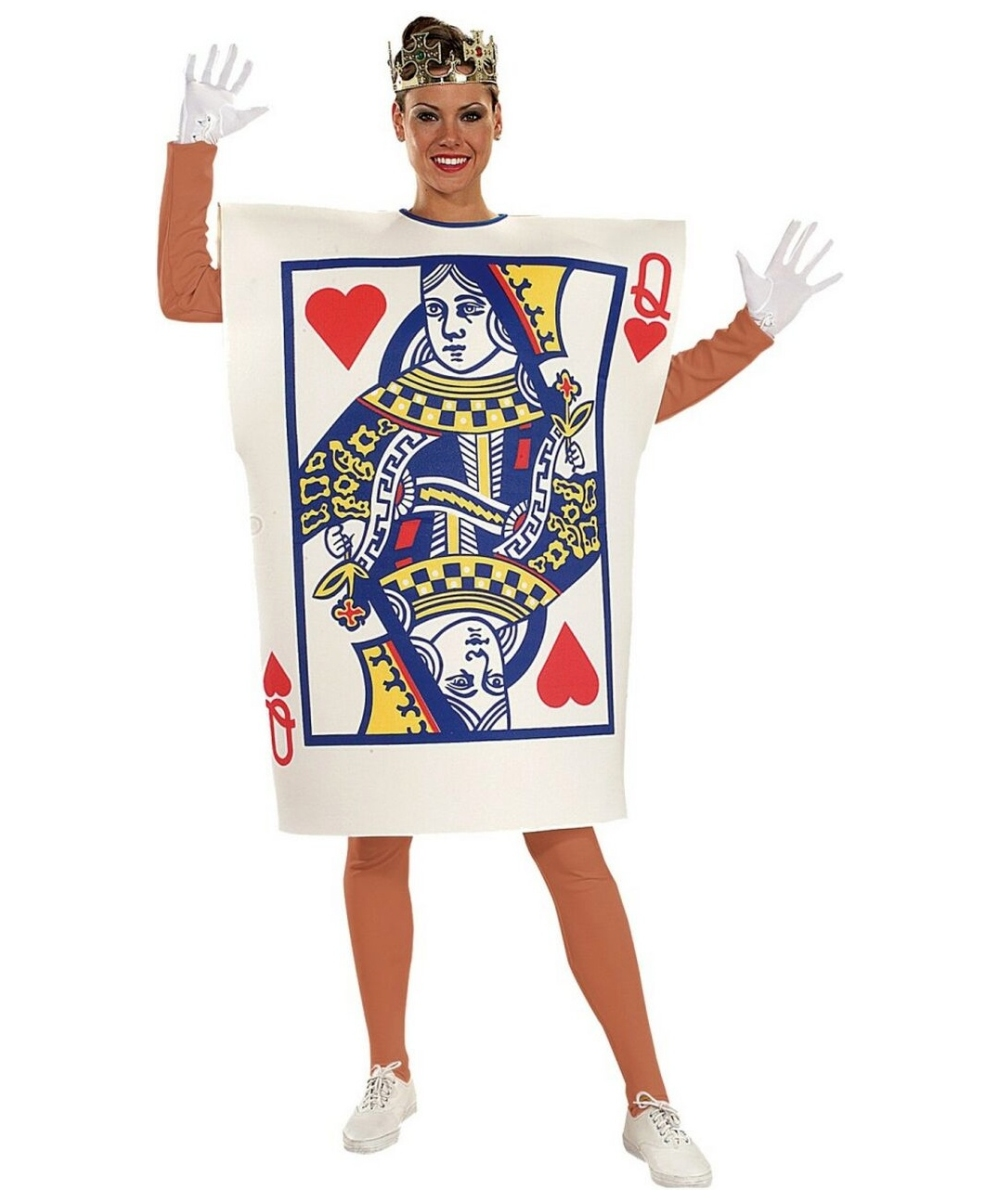 Queen Hearts Card Costume