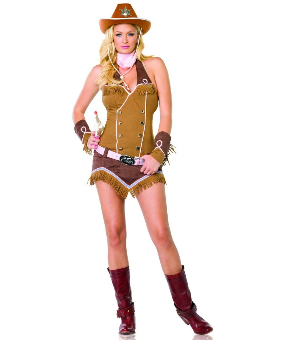 sc 1 st  Wonder Costumes & Adult Quickdraw Cowgirl Costume - Women Cowboy Costumes