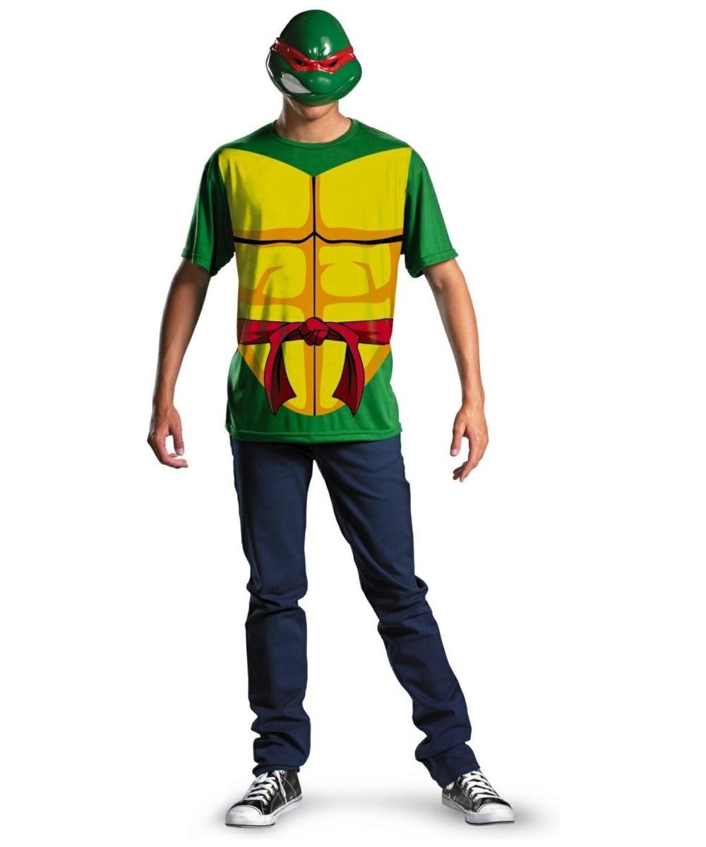 Ninja Halloween Costume Men.Adult Raphael Halloween Costume Men Ninja Costume