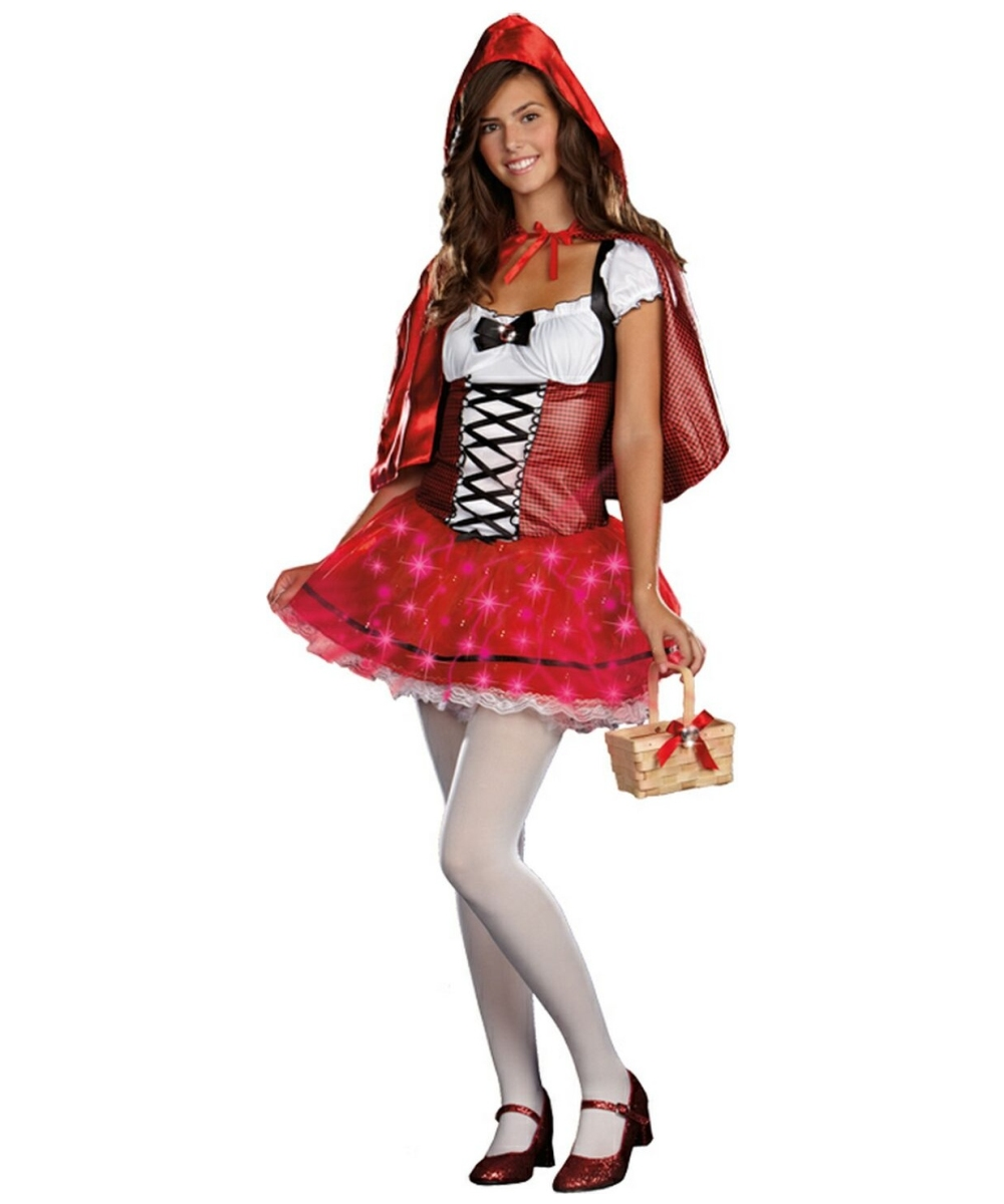little red delight costume - teen costume - teenager halloween