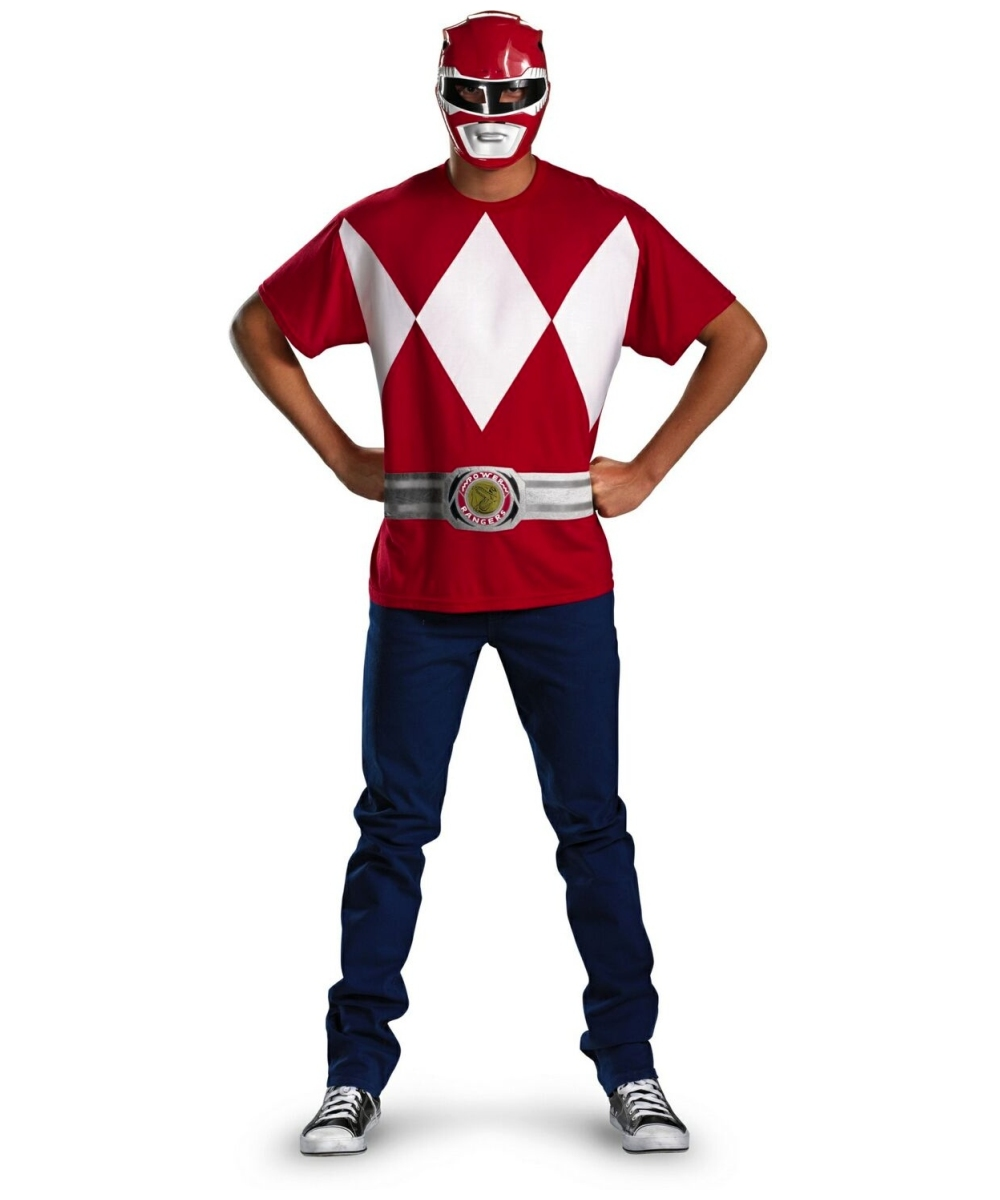 Red Power Ranger Costume Kit