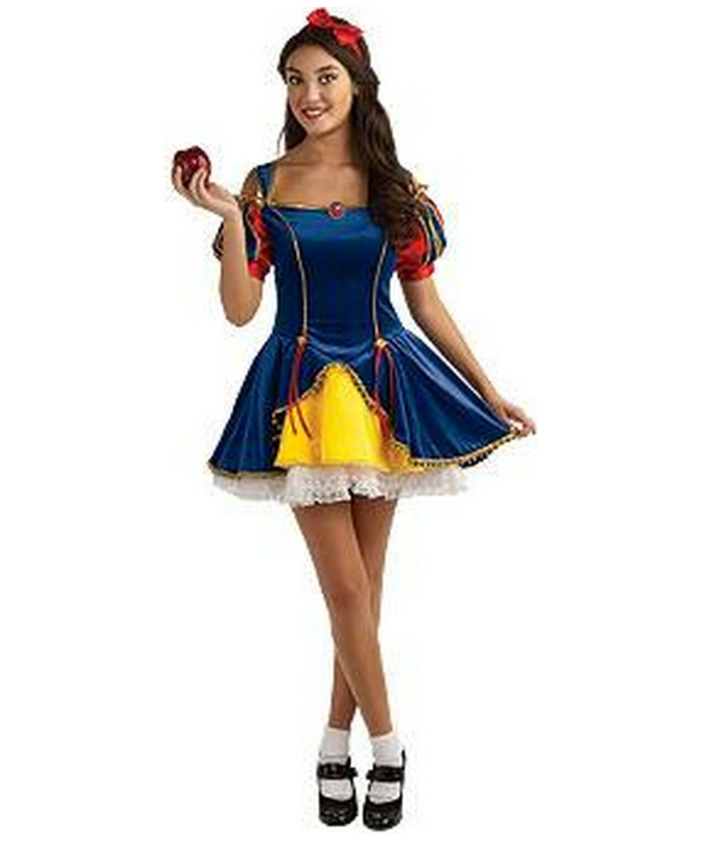 sc 1 st  Wonder Costumes & Snow White Disney Princess Costume for Teen - Kids Costumes
