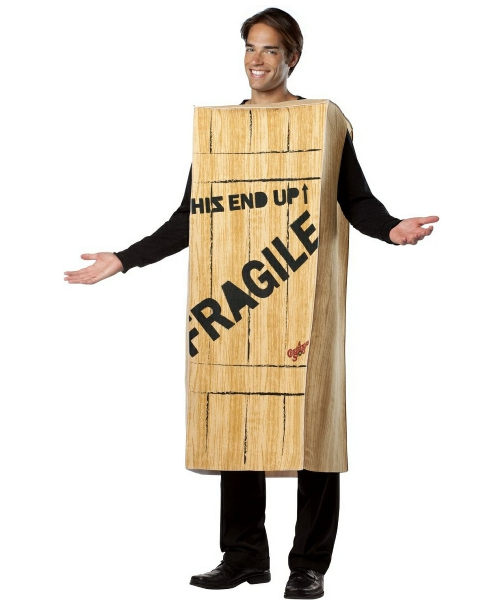 Adult A Christmas Story Fragile Wooden Crate Movie Halloween Costume