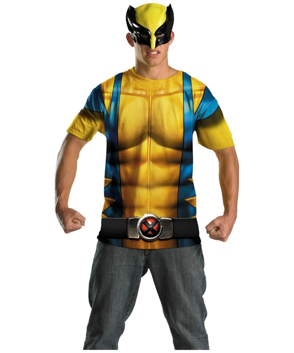 sc 1 st  Halloween Costumes & Wolverine Adult Costume - Men Superhero Costumes
