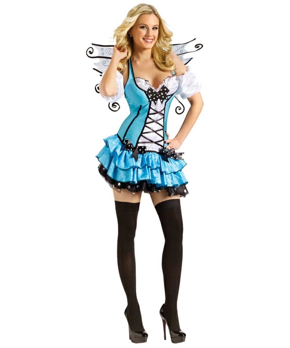 sc 1 st  Wonder Costumes & Bluebelle Fairy Adult Costume - Women Fairy Costumes
