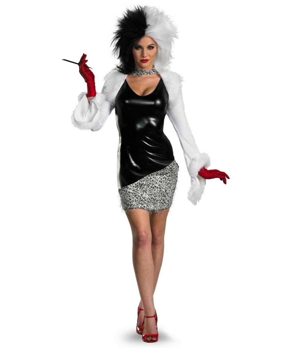 Adult Cruella Disney Costume - Women Disney Costumes