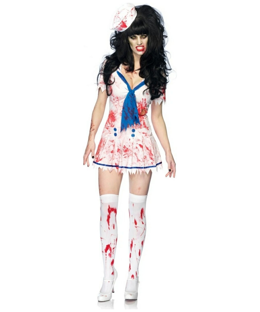 Womens Decaying Sailor Debbie Costume