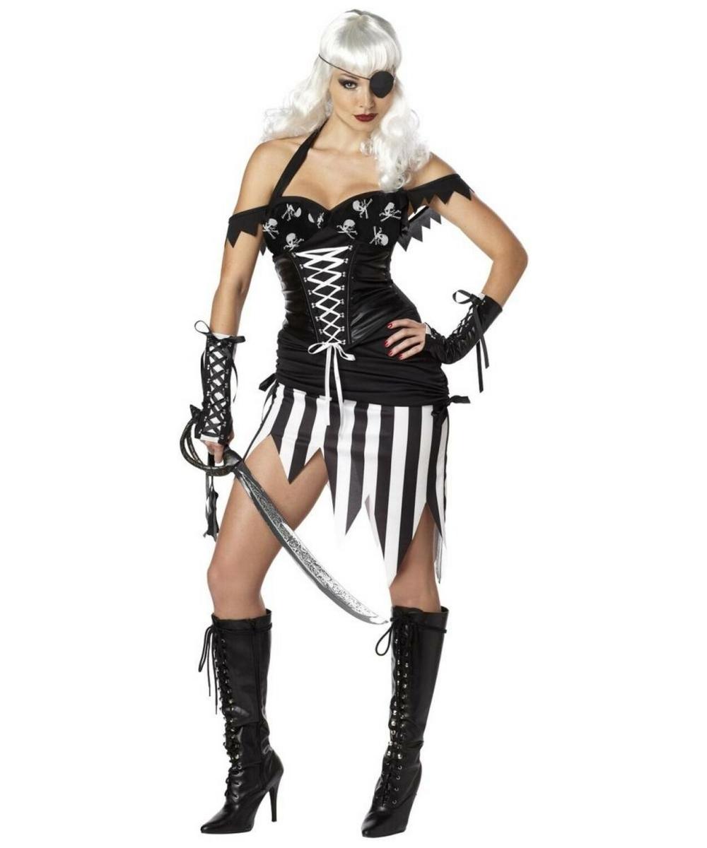 sc 1 st  Wonder Costumes & Adult Pirate Mistress Sexy Costume - Women Costumes