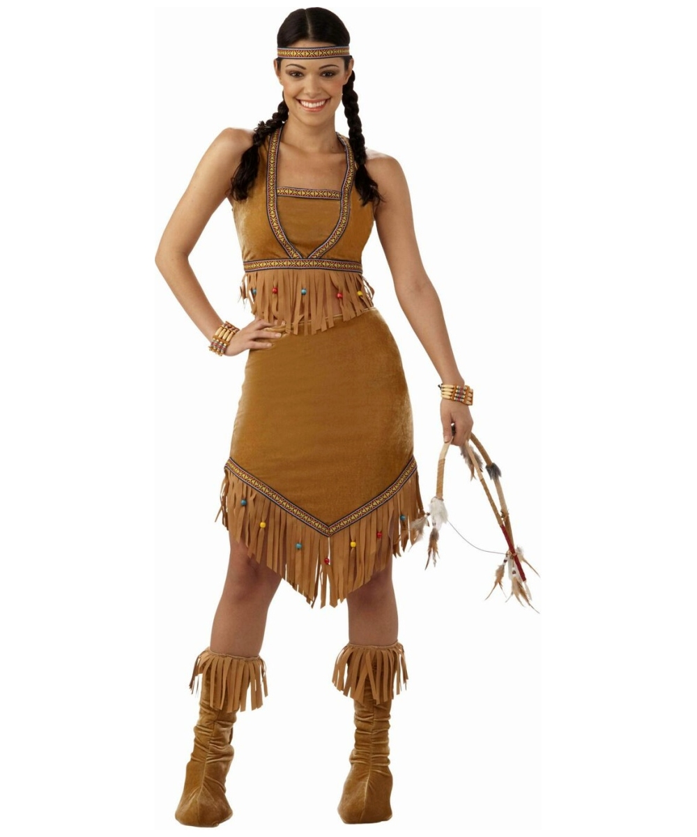 native american princess adult costume - indian costumes