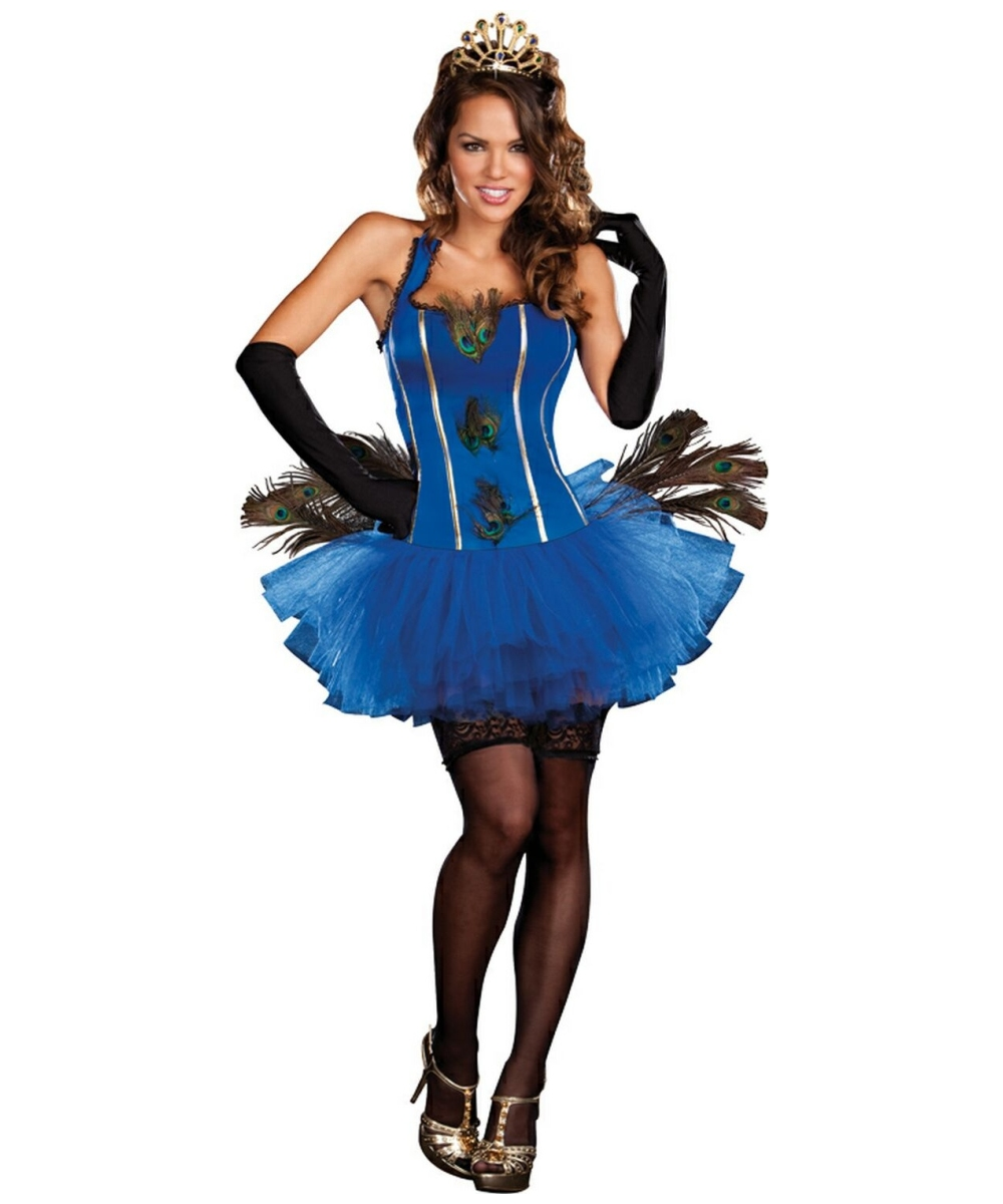 Womens Royal Peacock Costume