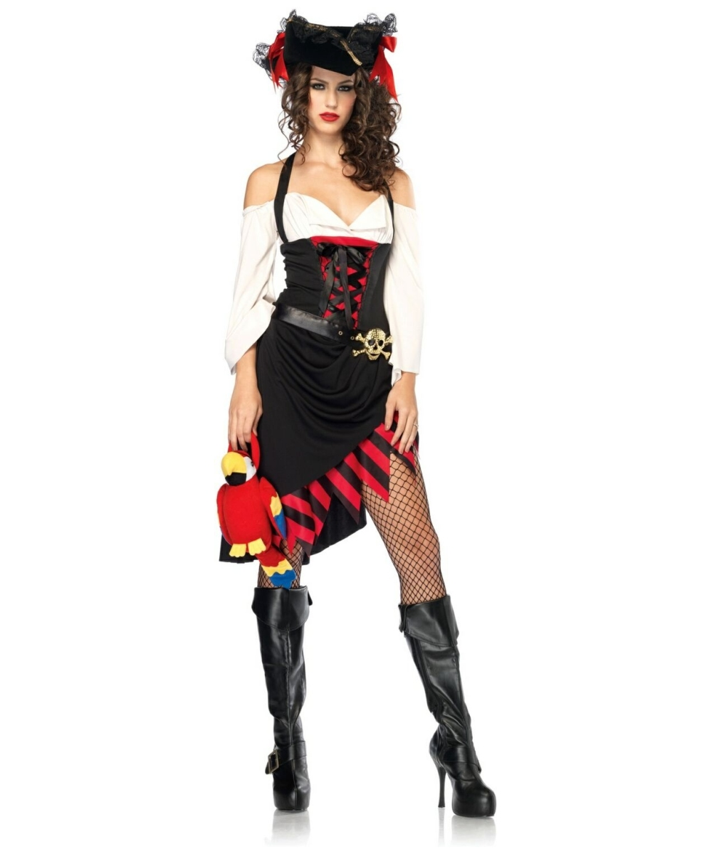 Adult Saucy Wench Pirate Costume Women Costumes