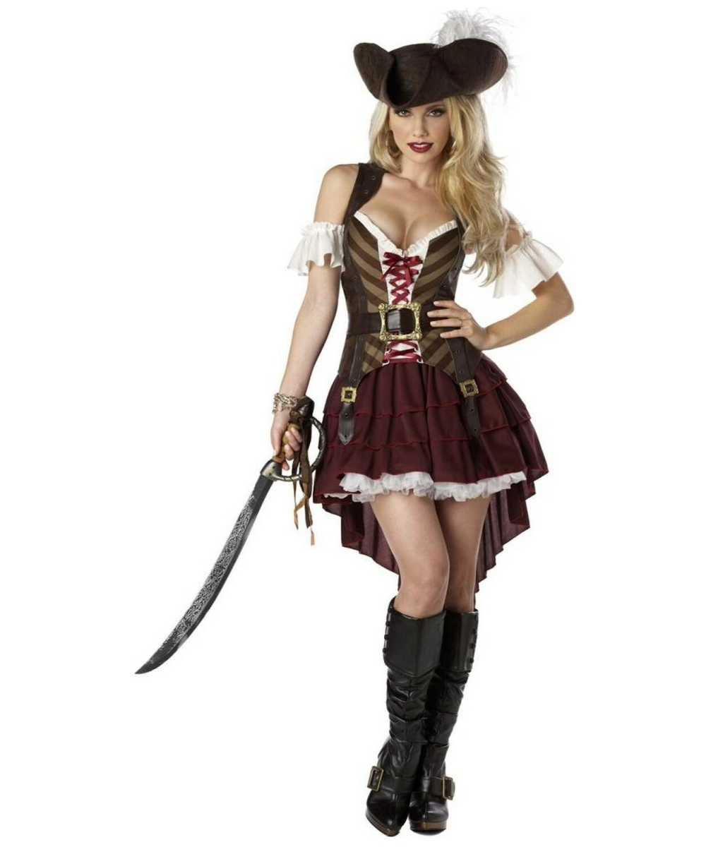 Womens Sexy Swashbuckler Costume