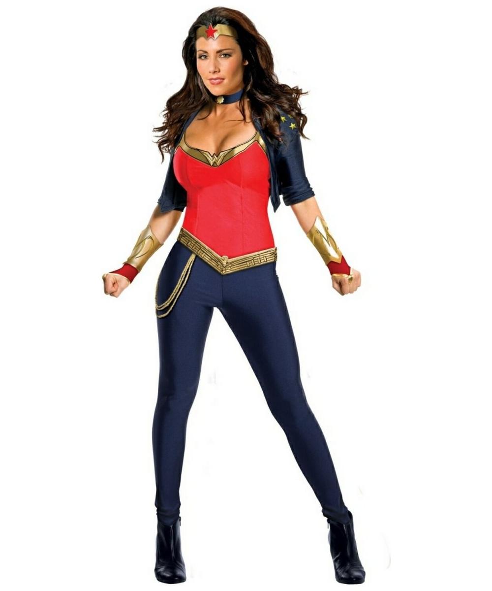 Adult Wonder Woman Costume - Adult Superhero Costumes-4639