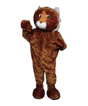 Tiger Mascot Adult Costume